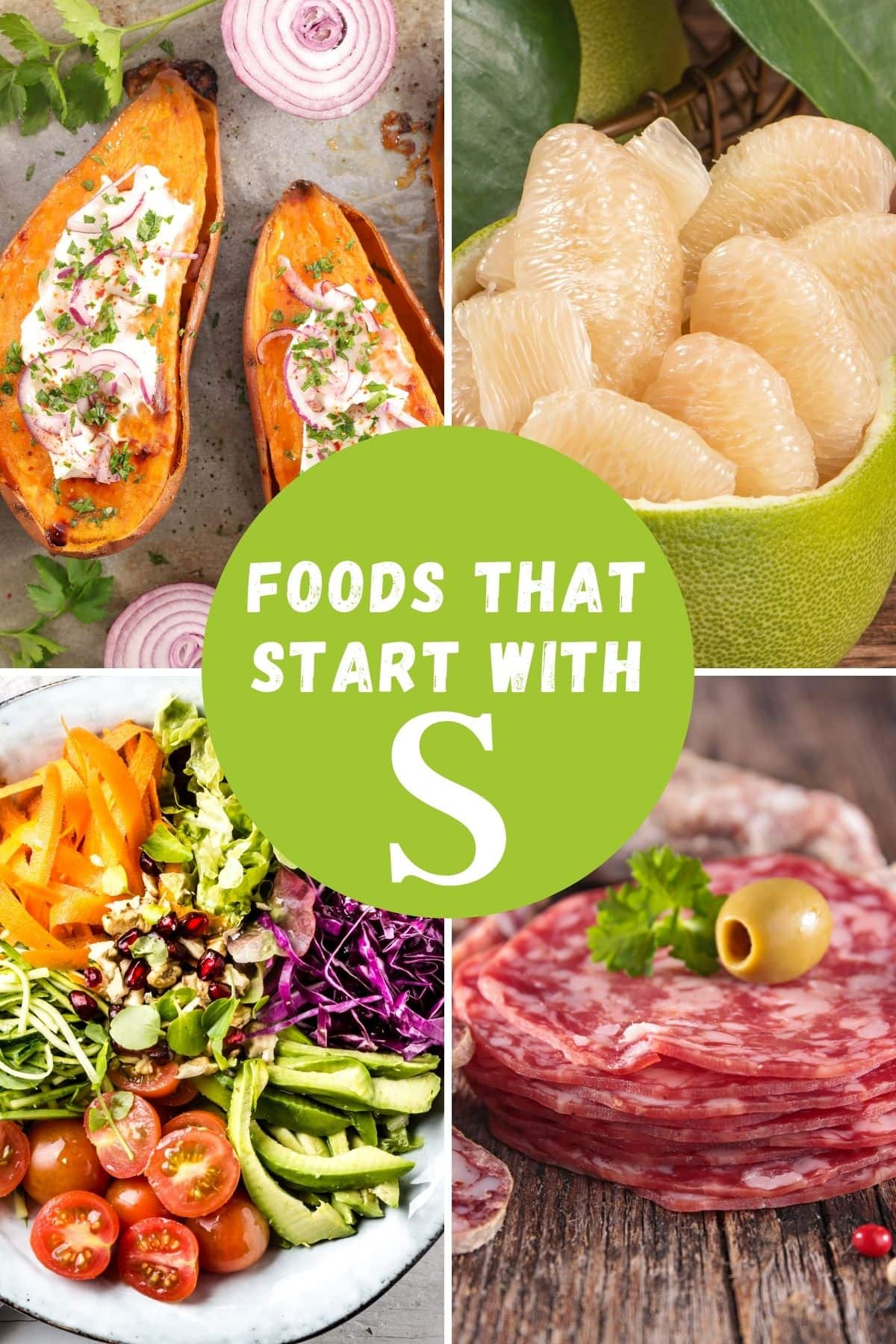 foods that begin with S