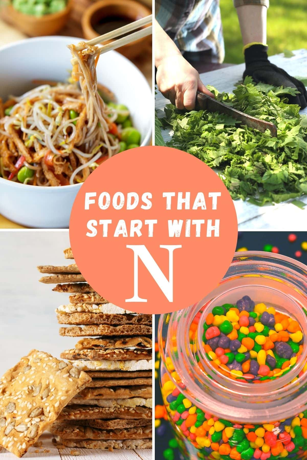 Foods that begin with the letter N