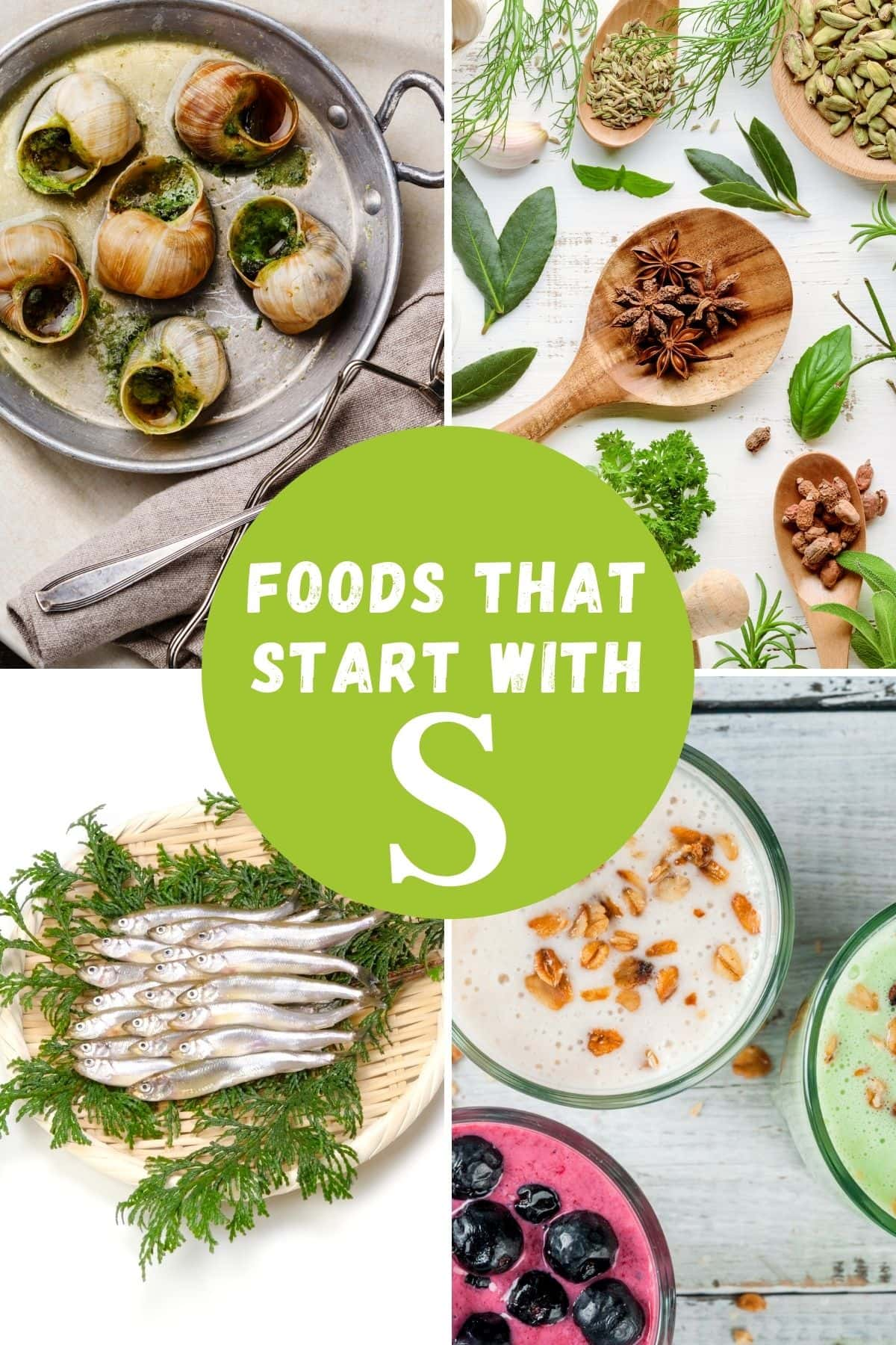 foods that begins with S