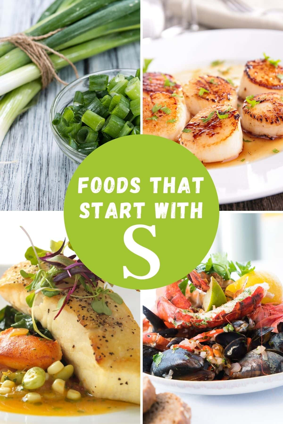 list of foods that start with S