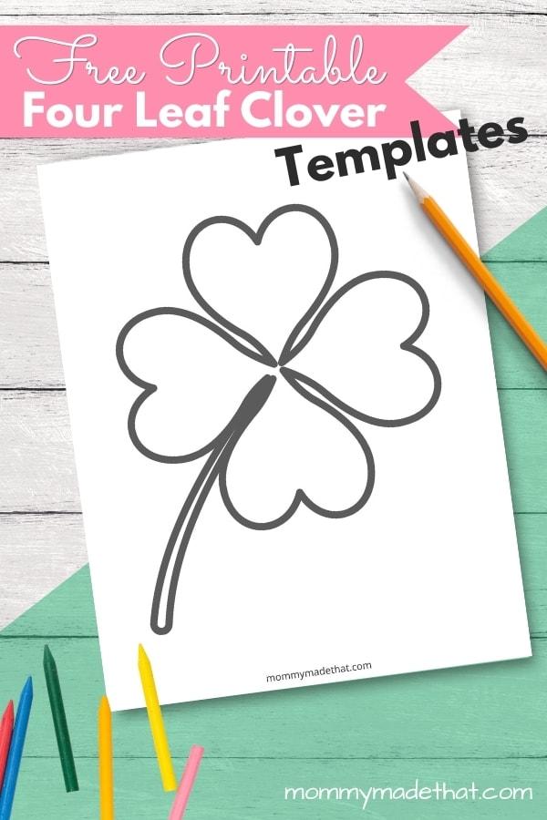four leaf clover templates