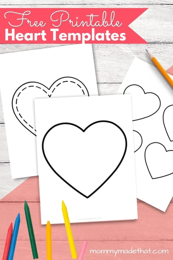 free heart templates