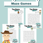 toy story games free printable