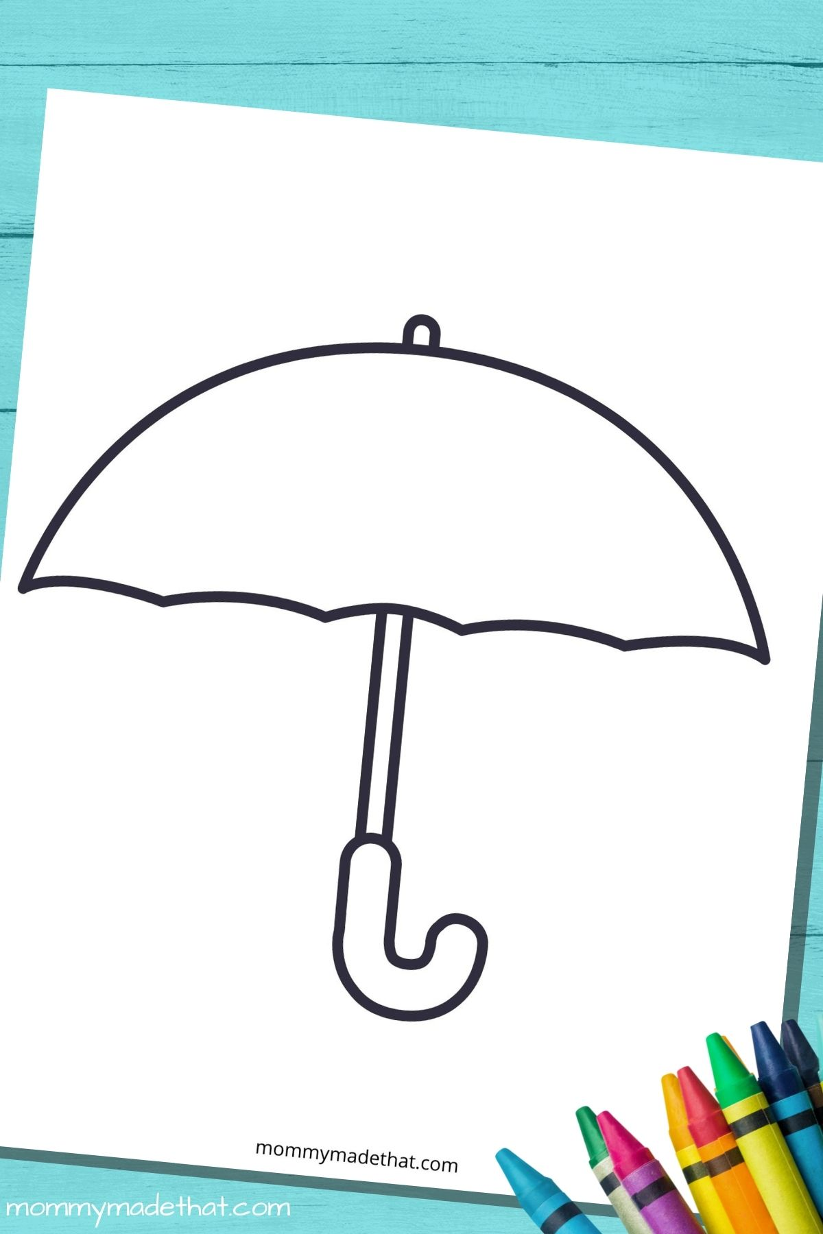 free umbrella template