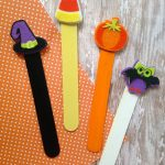 Easy halloween bookmarks