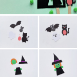 halloween puppets step by step tutorial