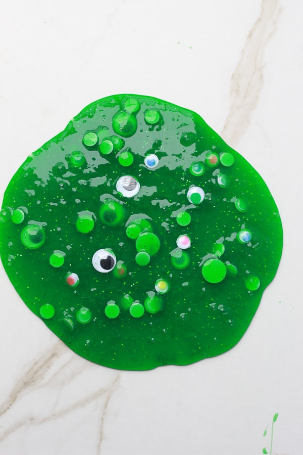 Halloween monster slime