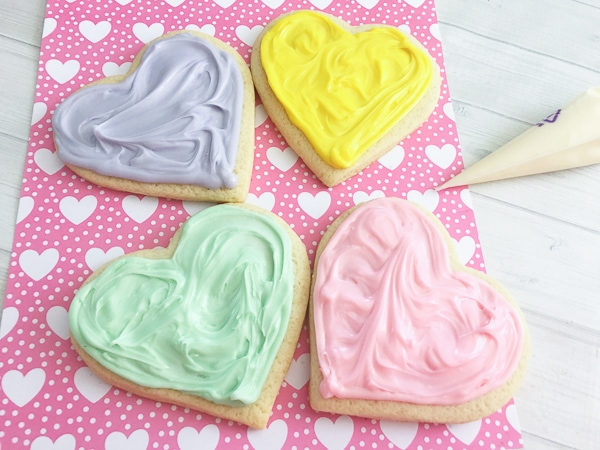 how to make conversation heart sugar cookies
