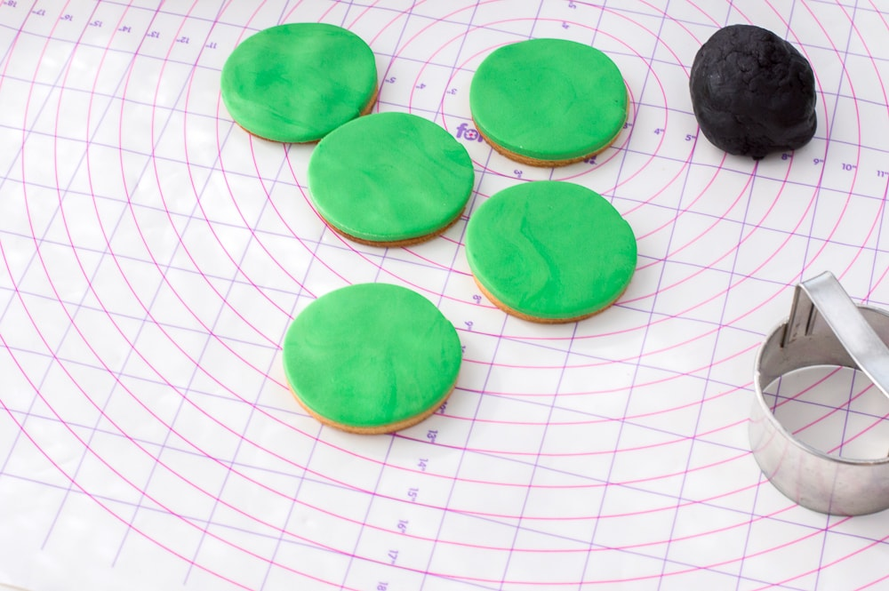 Hulk cookies great for an avengers party