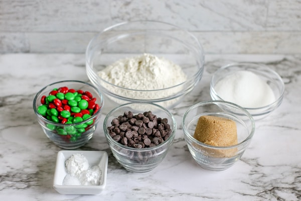 making cookie mix in a jar ingredients