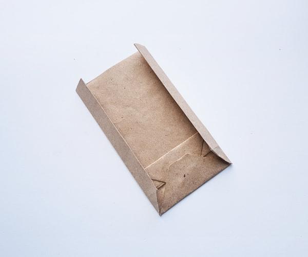 making paper bag turkey step 8