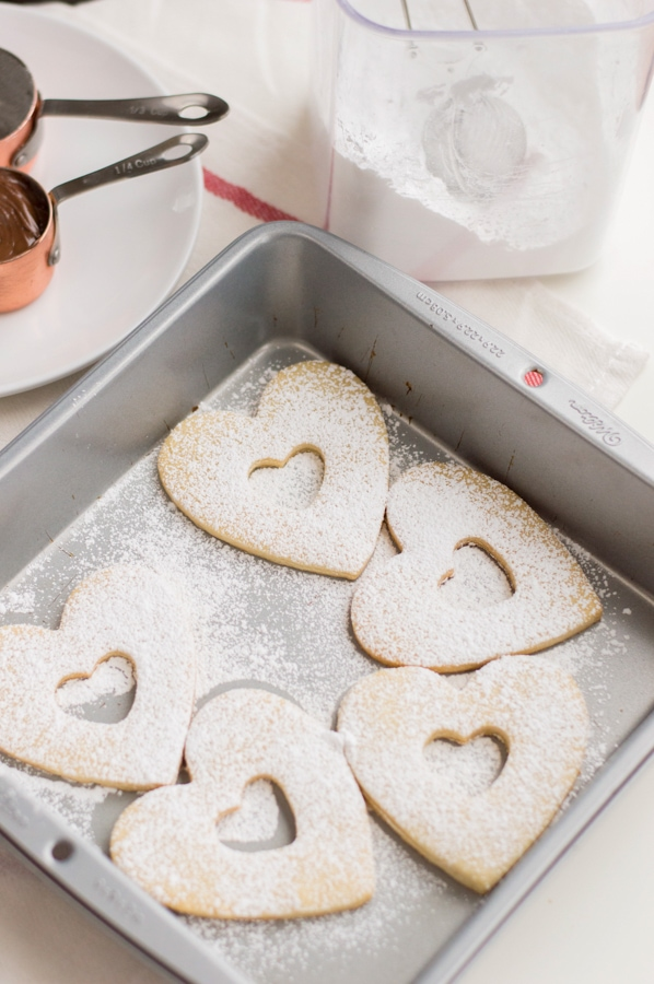 sweetheart cookies ready to bake