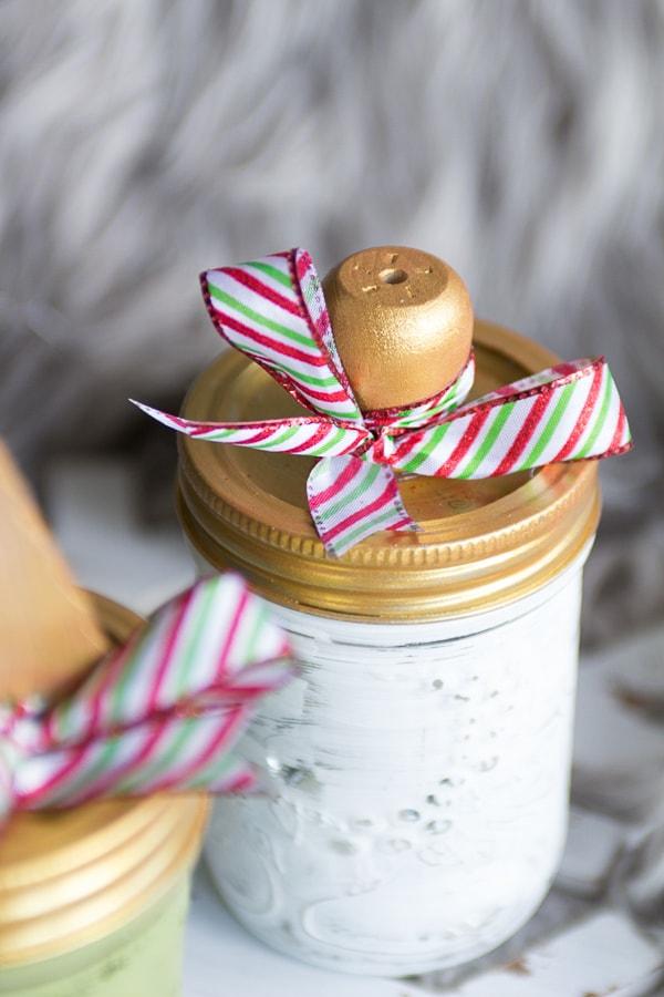 Mason jar gift for Christmas