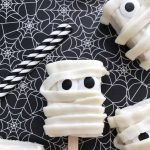 cute and easy mummy rice krispie treats