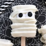 mummy rice krispie treatas for halloween