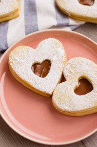 Nutella valentines day cookies