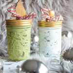 Christmas painted mason jars to fill and give as gifts
