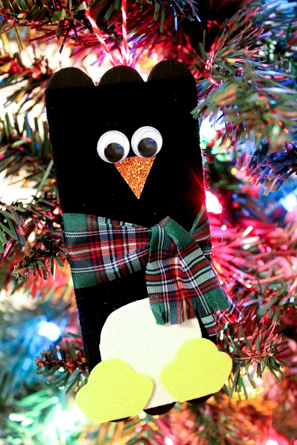 penguin ornament kids craft