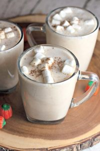 Cup of Pumpkin spice hot chocolate