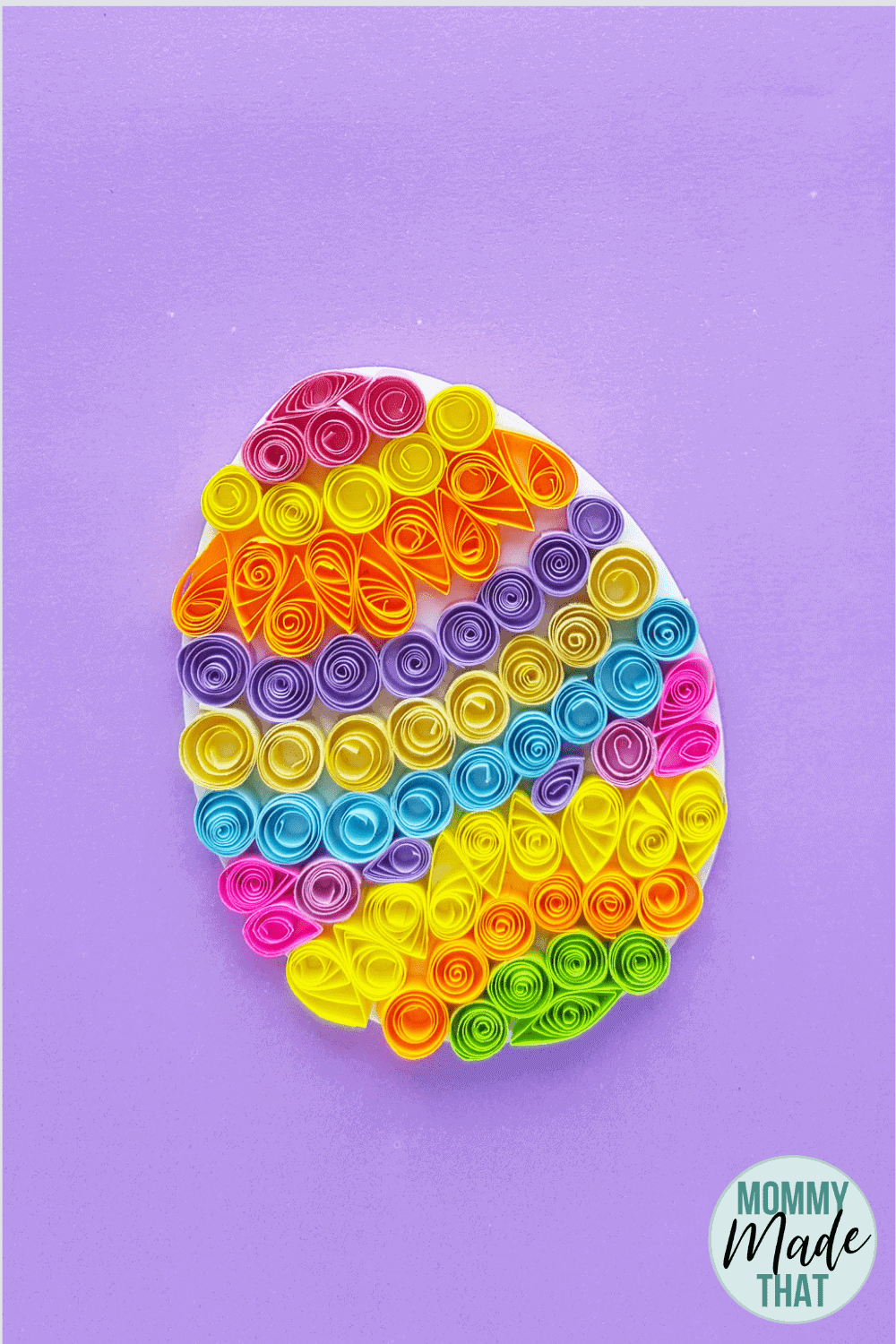 Quilled Easter Egg | Fun Paper Craft