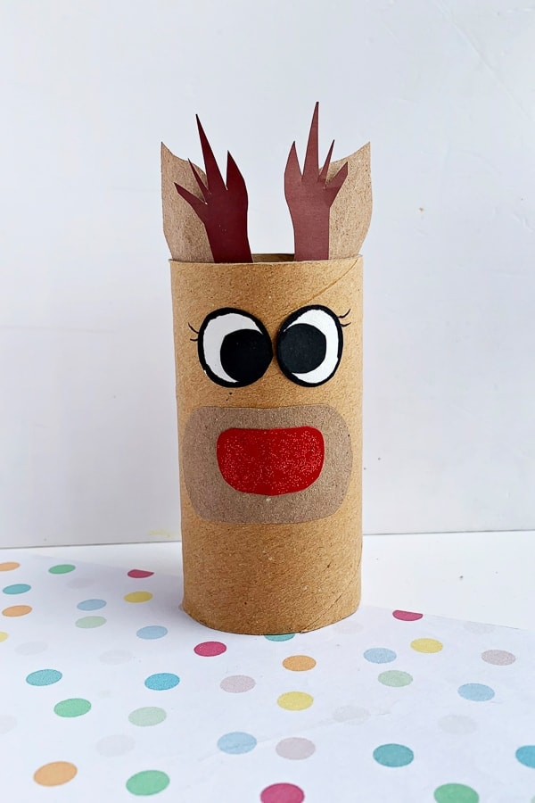 reindeer toilet roll craft