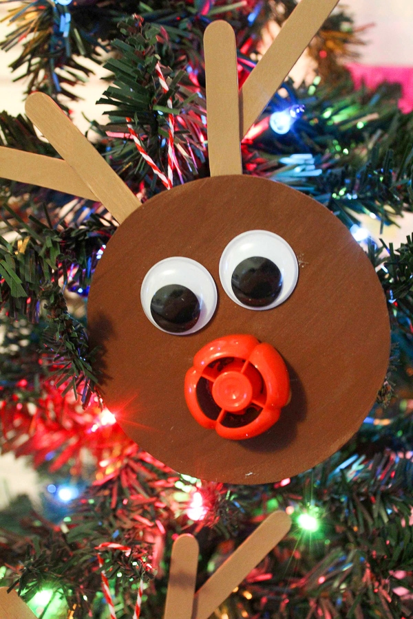 rudolph ornament craft