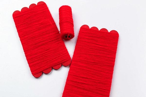 santa craft for kids popsicle sticks