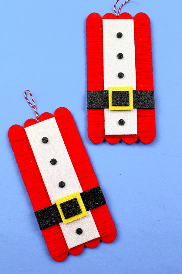 santa suit craft kids