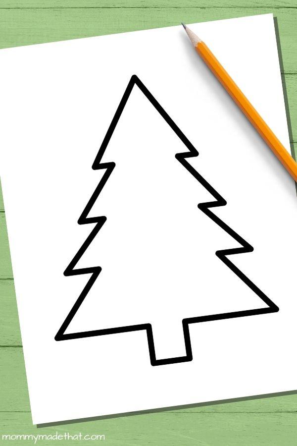 Basic Christmas tree templates