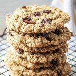 soft chewy oatmeal raisin cookies