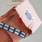 DIY Star War paper puppet craft