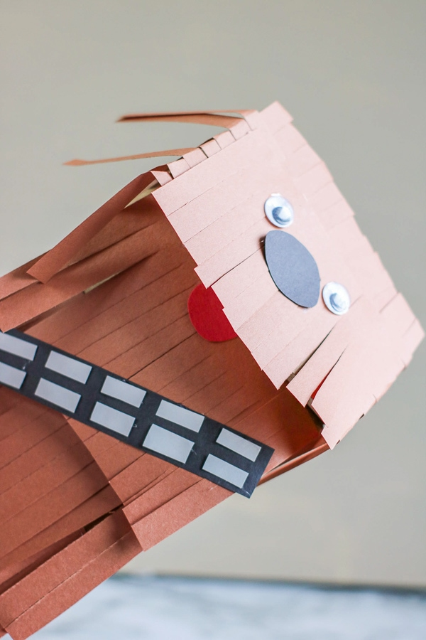 DIY Star War paper puppet craft