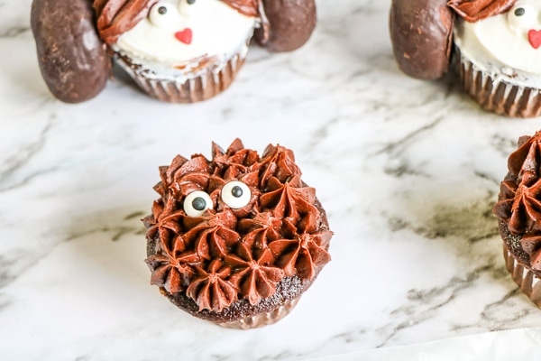 star wars chewbacca cupcakes tutorial