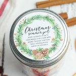 stove top potpourri recipe christmas gift