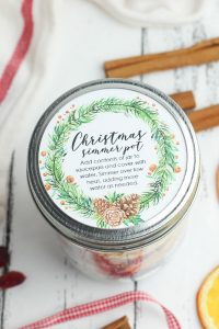 stove top potpourri recipe christmas gift