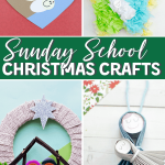 easy sunday school christmas crafts for kids
