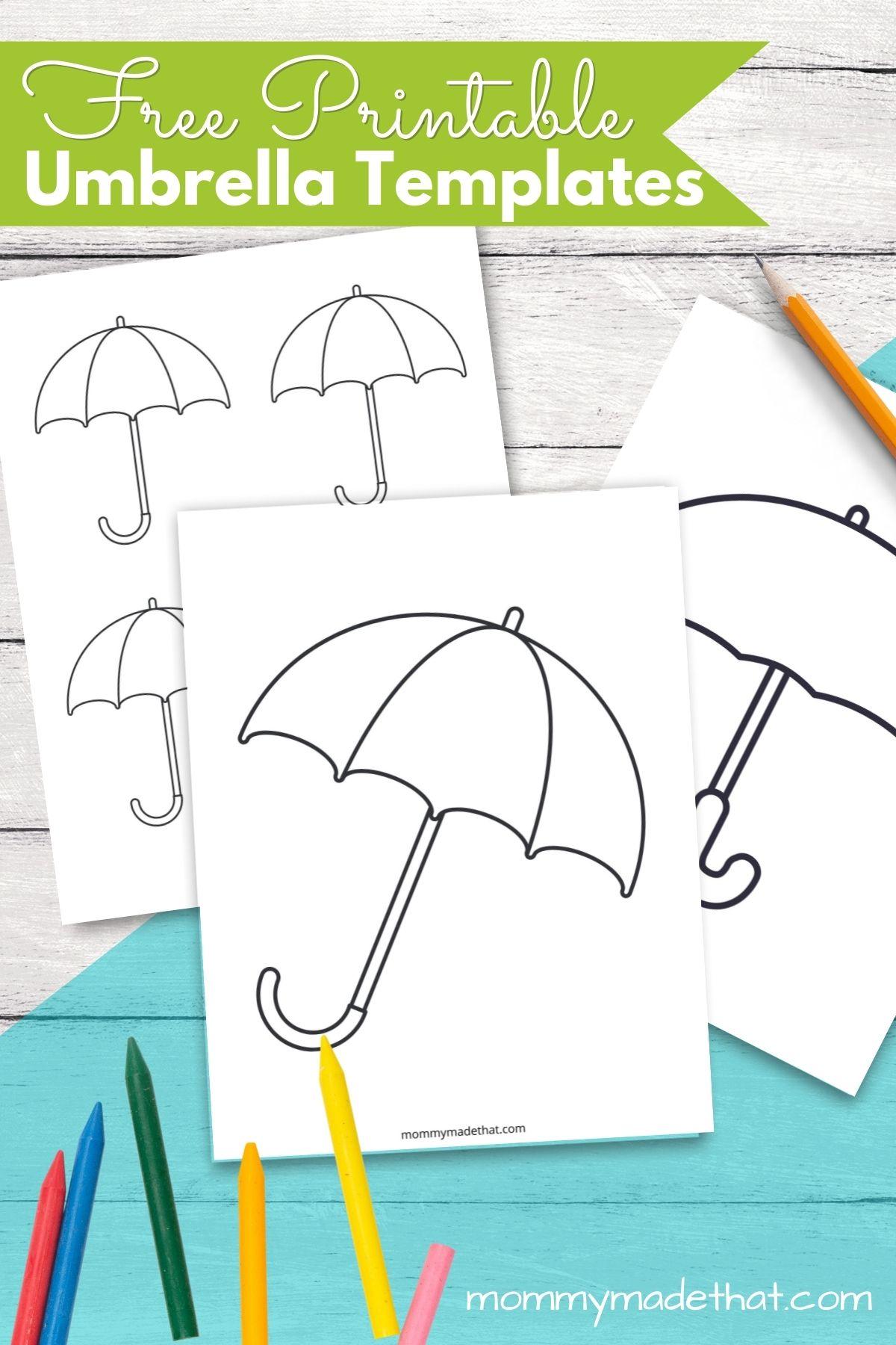 umbrella template